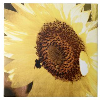 Vintage Sunflower Tile