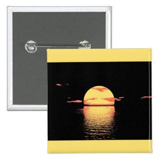 Vintage Sunset - Button