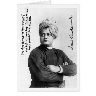 Vintage Swami Vivekananda Photo America 1893 Card