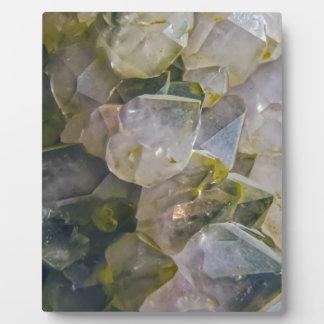 Vintage Swamp Crystals Plaque