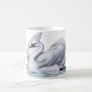 Vintage Swan Coffee Mug