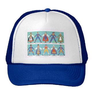 Vintage Swedish regional costumes Hat