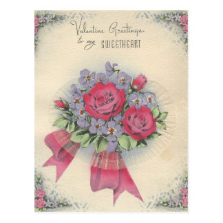 "Vintage Sweetheart ""Mario"" Valentine Postcard"