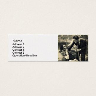 Vintage Swing Calling Card