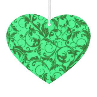 Vintage Swirls Green