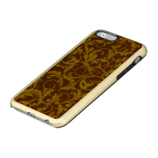 Vintage Swirls Mango Cinnamon Incipio Feather® Shine iPhone 6 Case