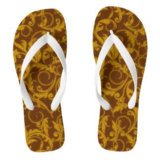 Vintage Swirls Mango Cinnamon Thongs