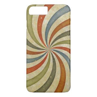 Vintage swirls pattern iPhone 7 plus case
