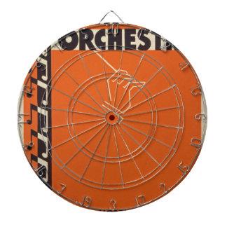 Vintage Symphony Orchestra Dartboard