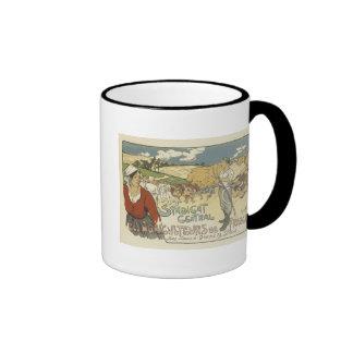 Vintage Syndicat Central Des Angrculteurs de Franc Ringer Mug