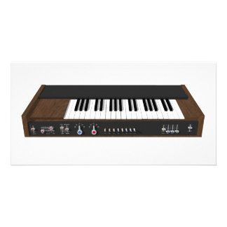 Vintage Synthesizer: 3D Model: Picture Card