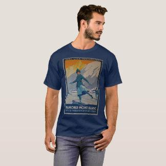 Vintage T-shirt Chamonix mont Blanc Paris old