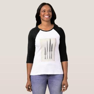 Vintage T-shirt Design Object Viking spear tips 5