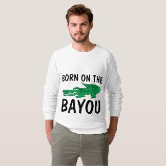 VINTAGE T-shirts, BORN ON THE BAYOU Sweatshirt