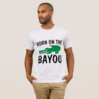 VINTAGE T-shirts, BORN ON THE BAYOU T-Shirt