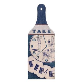 Vintage Take Time Cutting Board