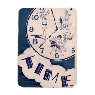 Vintage Take Time Magnet
