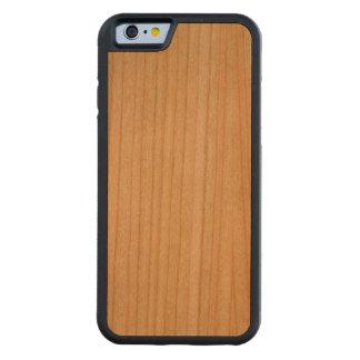 Vintage Tan Paper Parchment Background Template Carved Cherry iPhone 6 Bumper Case
