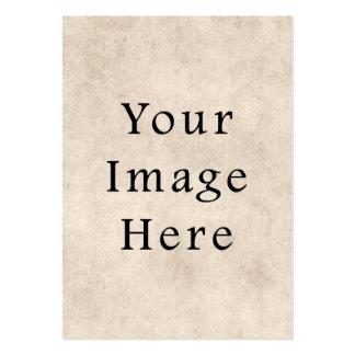 Vintage Tan Parchment Paper Background Template Business Card Templates