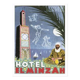 Vintage Tangier Morocco Postcard