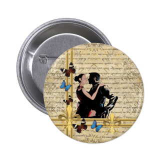 Vintage tango buttons