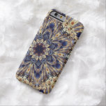 Vintage Tapestry Abstract Phone Barely There iPhone 6 Case