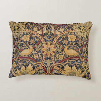 Vintage Tapestry Floral Fabric Pattern Decorative Cushion