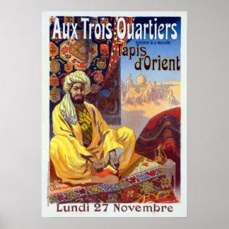 Vintage Tapis d'Orient Poster