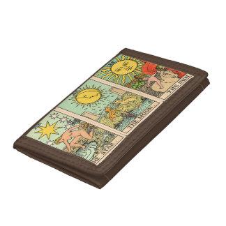 Vintage Tarot Trio Wallet