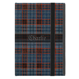 Vintage Tartan Your Name iPad Mini Case