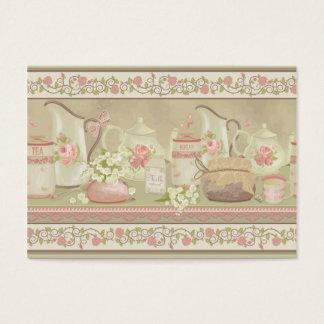 Vintage Tea Business Business Card