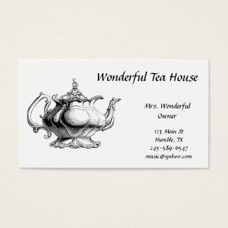 Vintage Tea Pot  Business Card