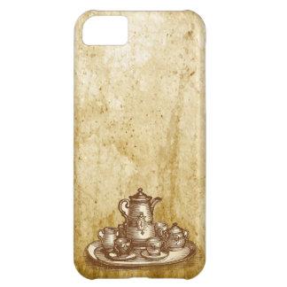 Vintage Tea Time Teapot & Cup iPhone 5 Case