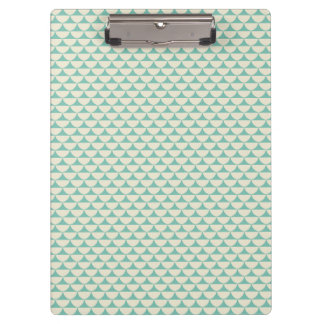Vintage Teal Design Clipboard