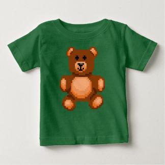 Vintage Teddy Bear - Pixel Art Baby T-Shirt