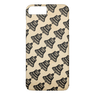 Vintage Telephone Bell Pattern iPhone 8 Plus/7 Plus Case
