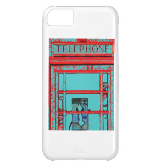 Vintage Telephone Booth iPhone 5C Cover