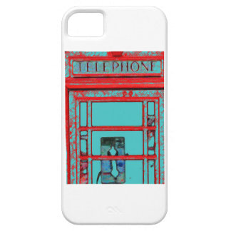 Vintage Telephone Booth iPhone 5 Case
