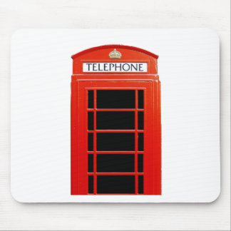 Vintage Telephone Booth Mouse Pad