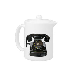Vintage telephone teapot