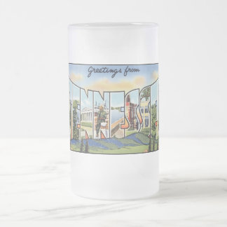 Vintage Tennessee Postcard Mugs and Steins