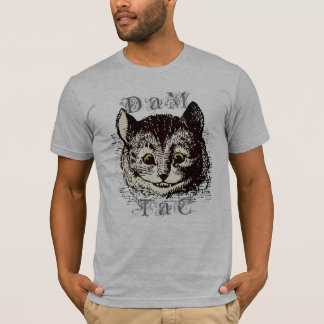 Vintage Tenniel Cheshire Cat Art T-Shirt