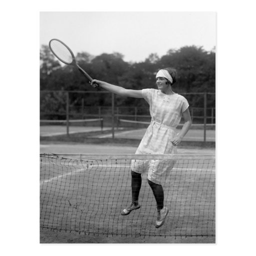 Vintage Tennis Outfit, 1920s Post Cards