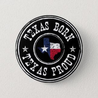 Vintage Texas born - Texas proud 6 Cm Round Badge