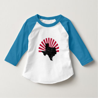 Vintage Texas Flare toddler raglan T-Shirt