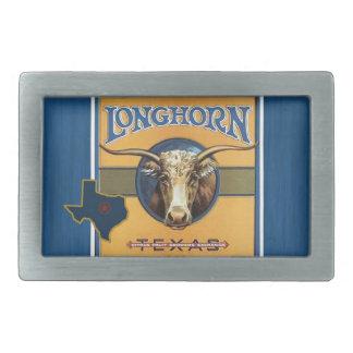 Vintage Texas Longhorn Image Belt Buckle