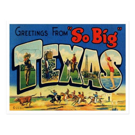 Vintage Texas Postcard
