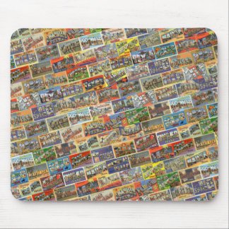 Vintage Texas Postcard Mousepad