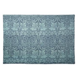 Vintage Textile Pattern Brer Rabbit William Morris Place Mats