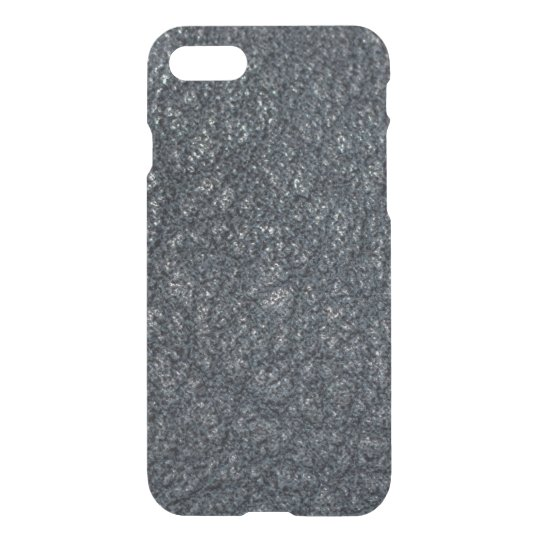 Vintage Textured Black Leather iPhone 8/7 Case